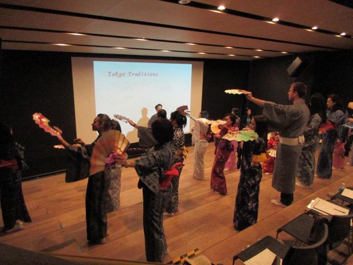 nihon buyo dance. japanese traditional art ,; workshop nihon buyo dance