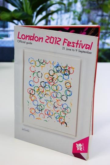 「ロンドン2012フェスティバル」公式ガイドブック