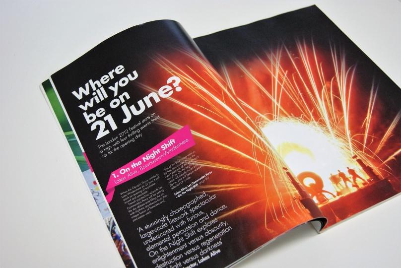 「ロンドン2012フェスティバル」公式ガイドブック:フェスティバル開幕の6月21日は全英各地でイベントを開催