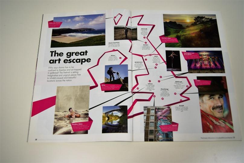 「ロンドン2012フェスティバル」公式ガイドブック:英国各地の歴史的建造物や遺産、景勝地でも文化プログラムが開催された